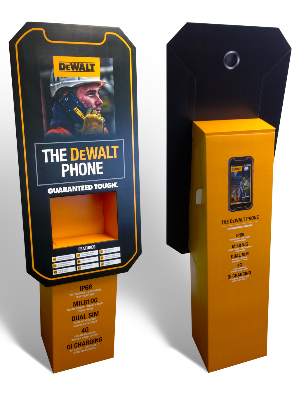 dewalt phones POS