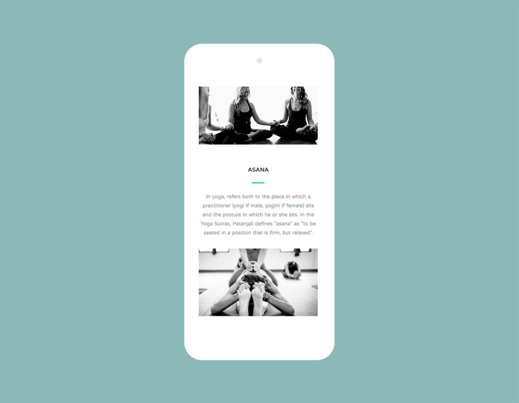 The Yoga Shed Responsive Website Designed By Paul Hillery
