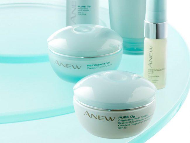 Avon Cosmetics Anew