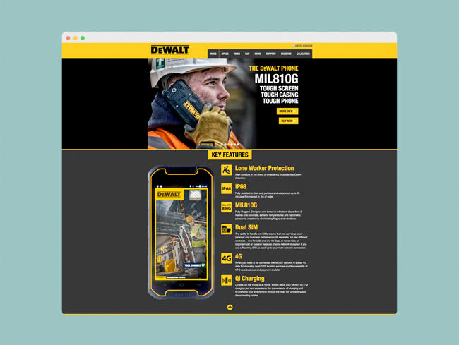 Dewalt Phones