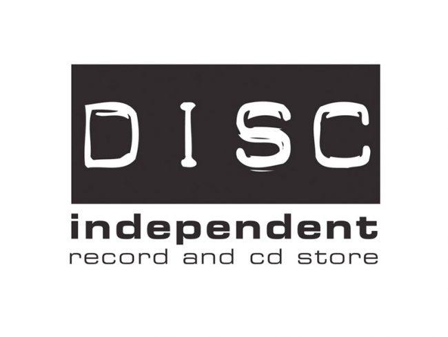 Disc Record Shop Logo