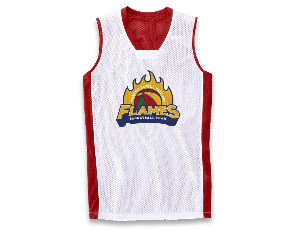 Favell Flames Basketball Team