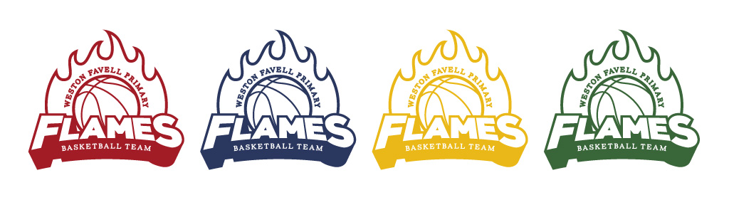Favell Flames Basketball Team