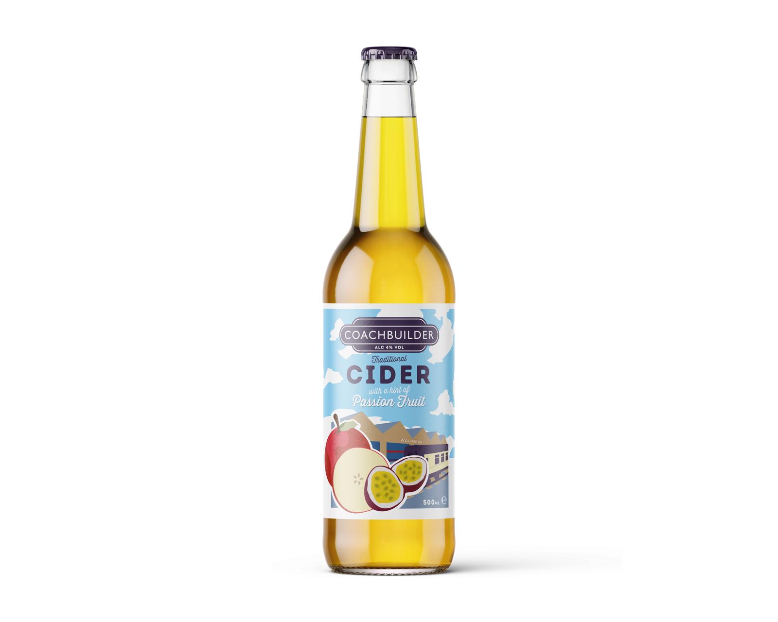 Coachbuilder Cider Passion Fruit