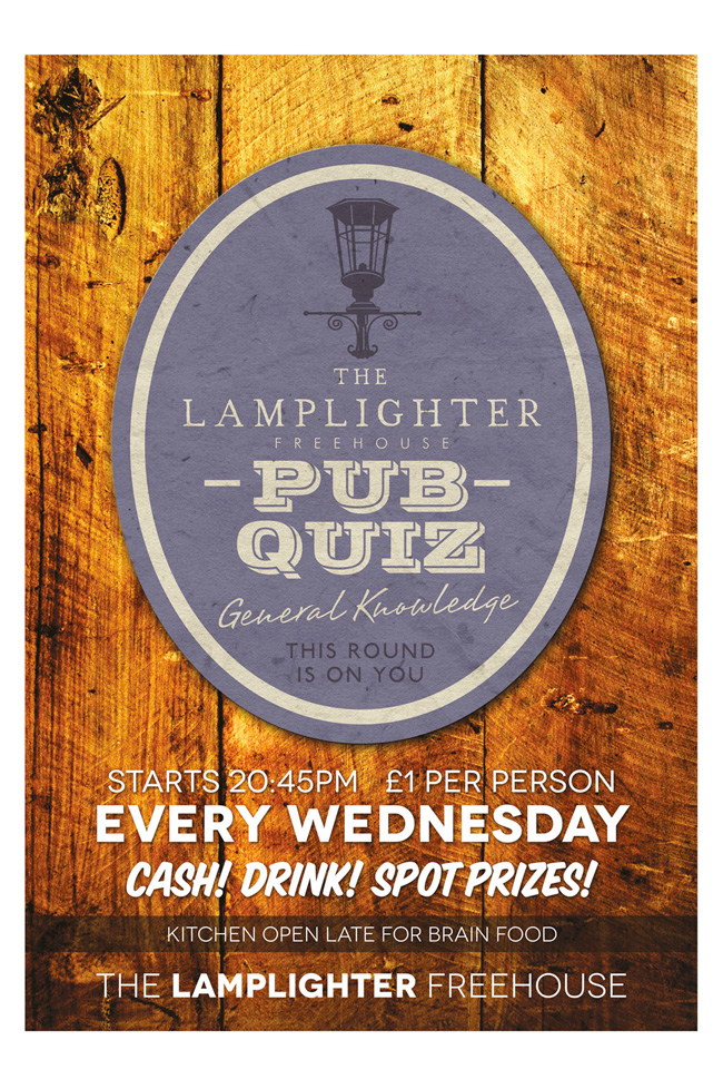The Lamplighter Pub Quiz