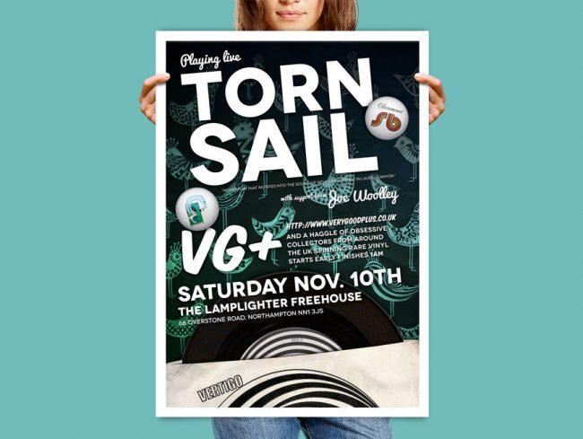 Torn Sail Poster