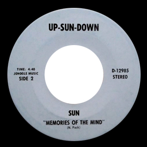 Memories Of The Mind - Sun