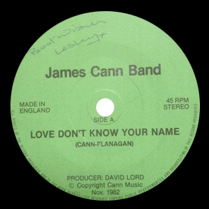 Love Don't Know Your Name - James Cann Band