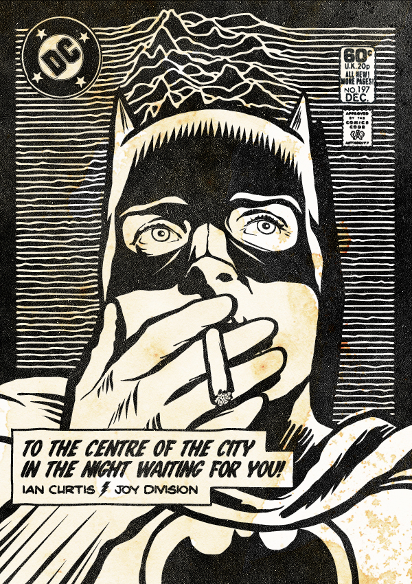 Butcher Billy ian Curtis Batman