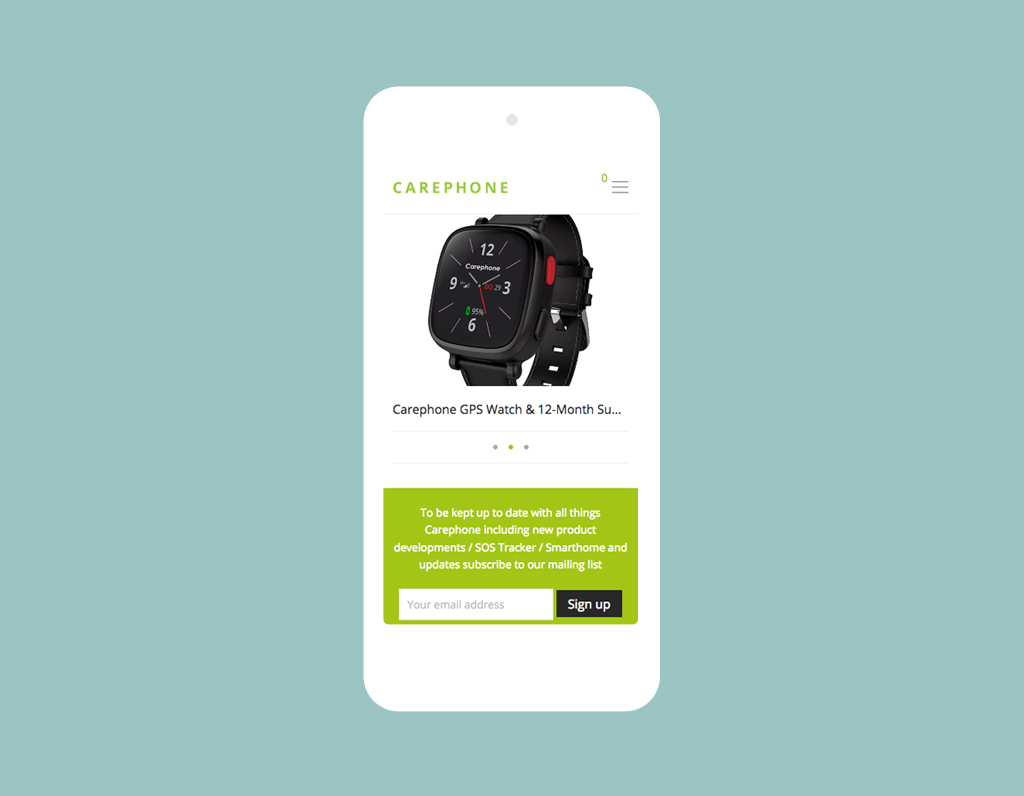 Carephone Technology to support you