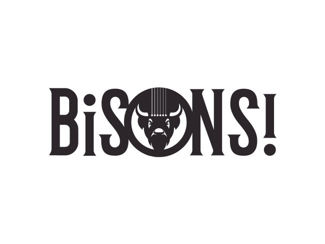 Logo for the band BiSONS!